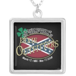 Edwards Dixie Outfitters memorial necklace