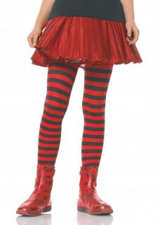 Little Girls Toddlers Striped Tights Stockings Kids Halloween Costume