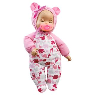 NIB Little Mommy Bedtime Baby Doll by Mattel w/short phrases and three