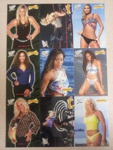 Magazine Complete 27 Card Set WWE Trish Torrie Stacy Lita RARE