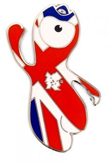 London 2012 Olympic Games Mini Union Jack Pin Badge