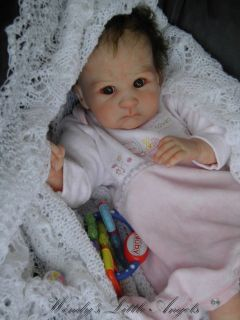 Lifelike Reborn Baby Girl Doll Created by Wendys Little Angels