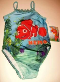 Disney Finding Nemo Swimsuit UV Protection Girls 3T