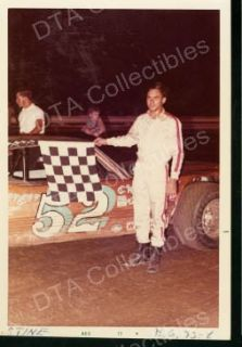 Stine 52 Dirt Track Stock Car Race Photo 1972