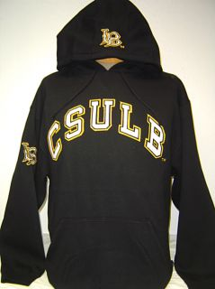 Black Cal State Long Beach Csulb 49ers Hoodie Jacket