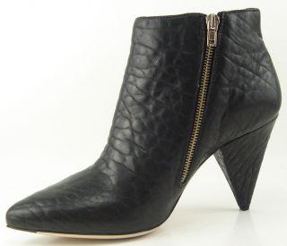 Loeffler Randall Fifi D Black Womens Designer Ankle Boots Booties 10