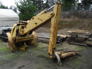 Esco Swing Grapple with Control Manifold Log Skidder Wood Process