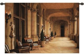 Biltmore Estate Italian Design Loggia Gallery Art Tapestry Wall