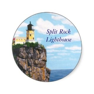 Split Rock Lighthouse Stickers