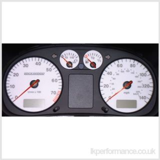 Lockwood VW Polo 140MPH Speedo 94 99 Blue Dial Kit Speedo Meter 44W