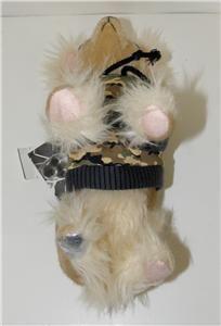 Fuzzy Nation Furry Chihuahua Bag Camo with MI Chi Dog