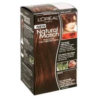 Oreal Natural Match Hair Color 4R Dark Auburn
