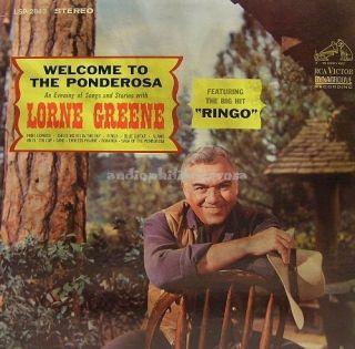 Lorne Greene Welcome to The Ponderosa RCA LSP 2843 LP