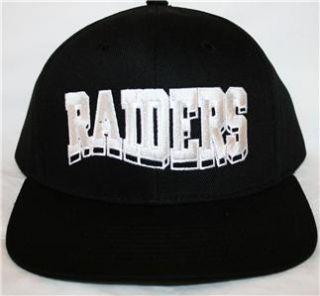 NFL Oakland Los Angeles Raiders Snapback Cap Hat Reebok