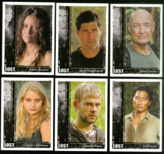 Lost Archives Rittenhouse 2010 Complete Trading Card Set Matthew Fox