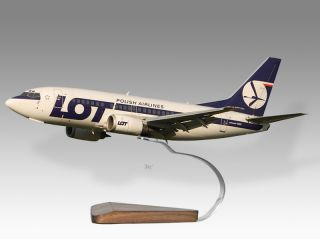 Boeing 737 500 Lot Polish Airlines Airplane Model