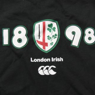 Canterbury London Irish Rugby Ladies Fitted T Shirt All Sizes