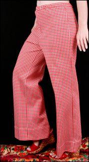 Houndstooth Pants Arkansas Razorback Lou Holtz Style M Go Hogs
