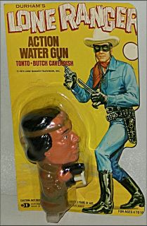 bidding up for auction is a great old piece of lone ranger memorabilia