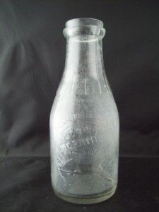 Vintage Glass Bottle Good Morning Tomato Juice Loudon