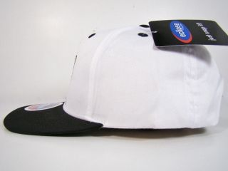 Long Beach State 49ers Snapback Hat White Head Logo LBC Eclipse NCAA