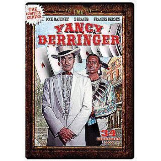New Yancy Derringer The Complete Series 4 Disc DVD Set All 34 Episodes