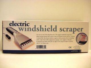 Electric Windshield Ice & Snow Scraper For Automobile Car Truck SUV 12