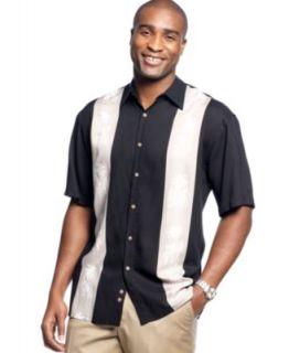 Campia Moda Shirt, Palm Print Shirt   Mens Casual Shirts