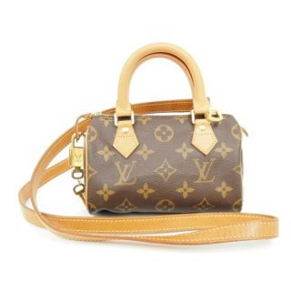 Authentic Louis Vuitton Sac Mini Speedy Bag M41534 w Extra Shoulder