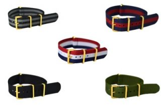 Buckle NATO Watch Band Strap Military Fits All Timex Watches