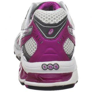 Womens Gel 3020 Running Shoe Sneaker White Lightning Hot Pink