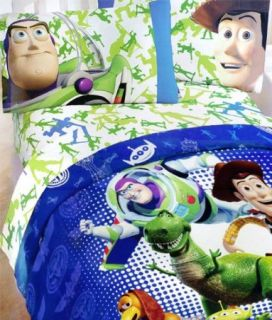 Toy Story Action Hero Comforter Sheet Set Disney Pixar Buzz Light Year
