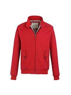 Racing Green Harrington jacket Red
