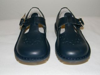 New Sweet Stride Rite Beatrix Navy Blue Leather Toddler Girls Mary