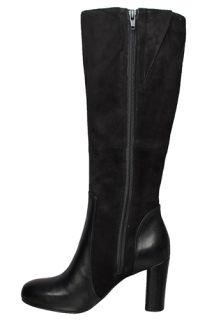 Clarks Indigo Womens Boots Loyal Pearl Black Leather 63150 Sz 7 5 M