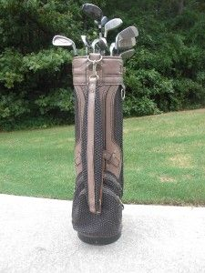 WOMENS COMPLETE RIGHT HAND GOLF CLUB SET & BAG
