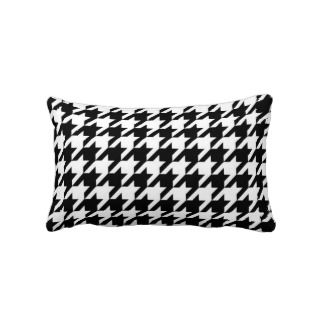 SALE   Retro Classic Houndstooth Lumbar Pillow