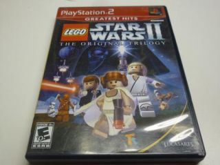 Lego Star Wars II LucasArts PS2 Game Original Trilogy 023272329358