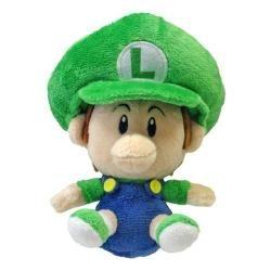 Sanei 5 Super Mario Plush Series Plush Doll Baby Luigi