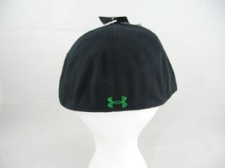 Mens Under Armour Shadow Fitted Cap Hat Lid Black or White 7 /12