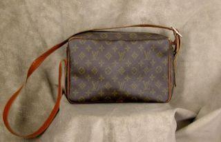 Vintage Louis Vuitton French Company Shoulder Bag Purse Original Tag