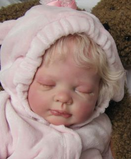 Nancys Lil Darlings Lucy by Tina Kewy 24 Reborn Baby Girl Limited