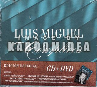 Luis Miguel Complices Edicion Especial CD DVD New