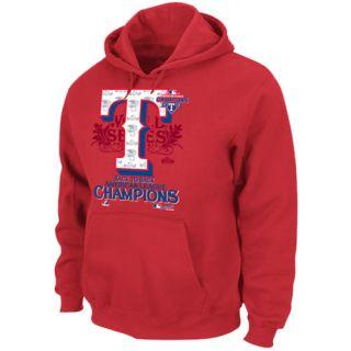 Texas Rangers 2011 ALCS Champions Sweatshirts L
