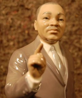 Lladro Martin Luther King Limited Edition Retired 7528 MLK