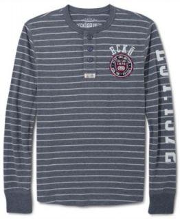 Ecko Unltd Shirt, Rhino Stance Long Sleeve Shirt