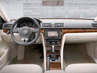 Volkswagen Passat Lux CC Interior Burl Wood Dash Trim Kit Set 2012