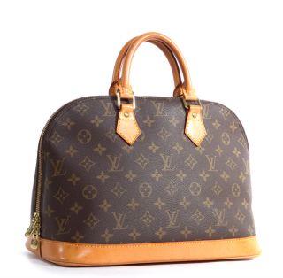 Louis Vuitton Monogram Canvas Alma Tote Bag