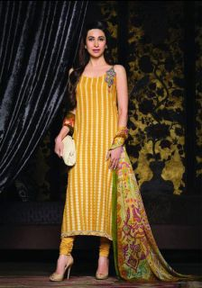 Gherdar Pakistani Designer Long Ethnic Salwar Kameez Salwar Kameez