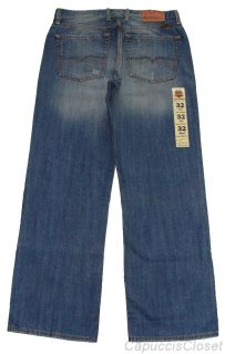 Lucky Brand Mens Jeans Relaxed Straight Leg 165 Denim Jean Sz 32 30